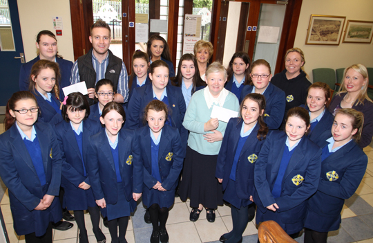 St Mary's High School in Downpatrick took part in many fundraising activities during Lent.