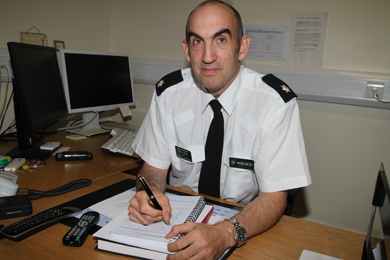 Area Commander Superintendant Simon Walls explains the new policing arrangements being introduced on Monday 28 September 2915.