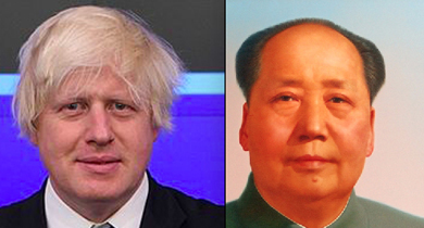 The council debate touched on the perceived role of 'chairmen' - Boris as MAyor of London  doe snot appear to engage in ceremonial dressing up, and Mao hs given the America connatations of 'chairman'.