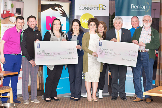 Members of Down Business Connect  with MYMY and Remap NI.