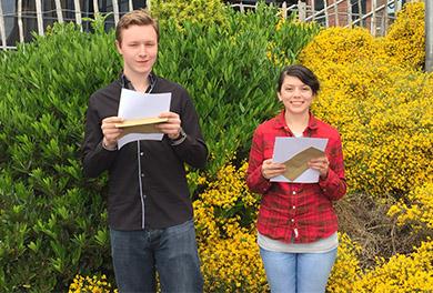 Former SERC students Keaton and Ellen Dennison were success in wining bursaries to help them with their university studies.