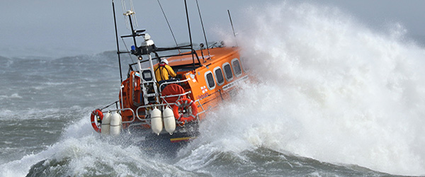Newcastle RNLI were involved in a three yacht rescue in Strangford Lough having faced mountainous seas on the way.