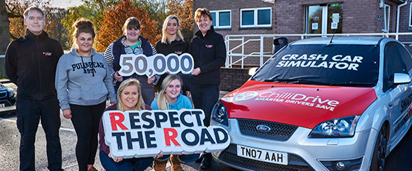 The Autoline Insurance road safety programme Respect the Road is having an impact on young drivers.